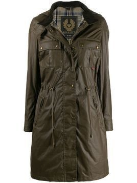 Belstaff Cottle waxed coat - Brown