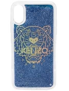 Kenzo Tiger iPhone X/XS case - Blue