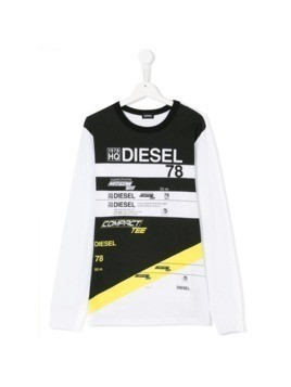 Diesel Kids Teen Tebre T-shirt - White