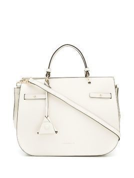 Coccinelle Didi grained-effect tote - White