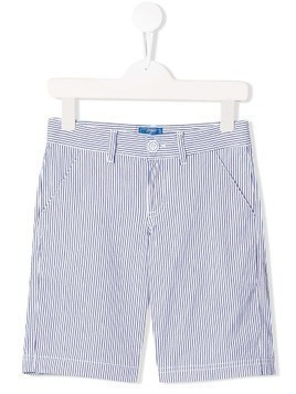 Fay Kids striped shorts - Blue