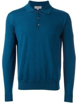 Canali polo jumper - Blue