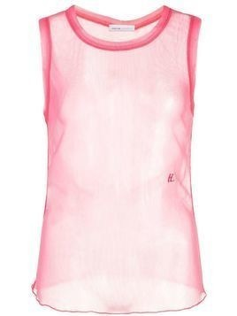 Helmut Lang sleeveless tank top - Pink
