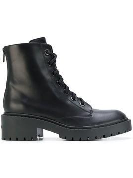 Kenzo lace-up combat boots - Black
