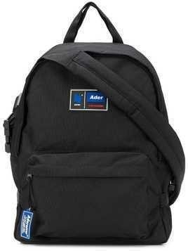 Ader Error 'Co-joined backpack' shoulder bag - Black