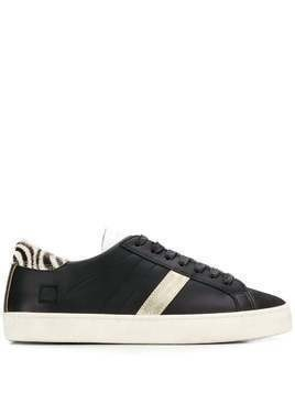 D.A.T.E. side stripe sneakers - Black