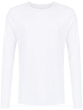 Track & Field long sleeved t-shirt - White