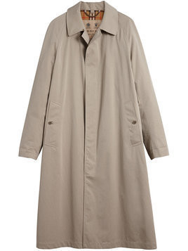 Burberry - Brighton extra-long car coat - Herren - Cotton - 56 - Nude & Neutrals