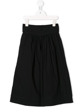 Little Creative Factory Kids cropped wide-leg trousers - Black