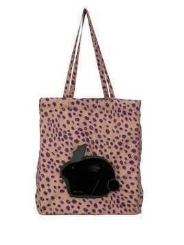 PS Paul Smith leopard print tote - Black