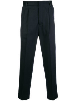 Mauro Grifoni cropped tailored trousers - Blue