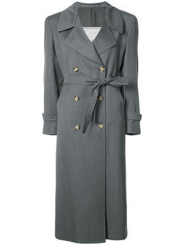 Giuliva Heritage Collection double breasted trench coat - Grey