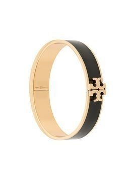Tory Burch enamel logo bangle - Black