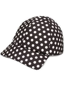 Plan C polka dot baseball cap - Black