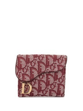 Christian Dior Pre-Owned Trotter pattern coin case - Purple