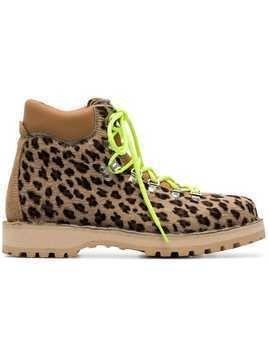 Diemme brown and black Leopard Print Boots