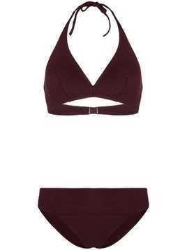Eres triangle top bikini - Purple