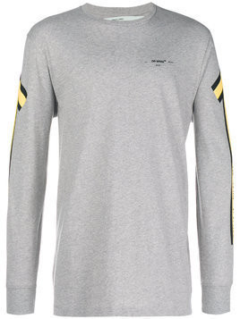 Off-White Arrows print sweatshirt - Grey