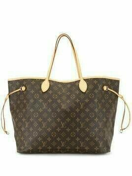Louis Vuitton 2008 pre-owned Neverfull GM tote bag - Brown