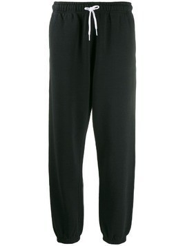 Polo Ralph Lauren cropped track trousers - Black