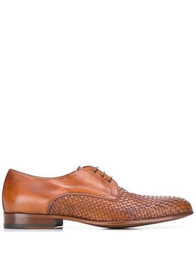 Scarosso Sebastiano derby shoes - Brown