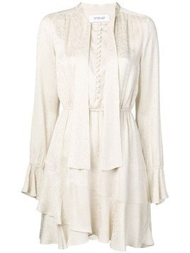 Derek Lam 10 Crosby snake satin dress - NEUTRALS