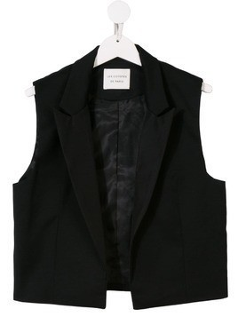 Les Coyotes De Paris tailored waistcoat - Black