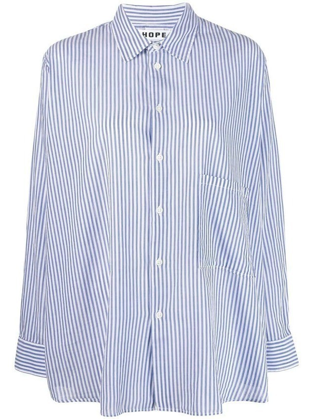 Hope striped shirt - Blue