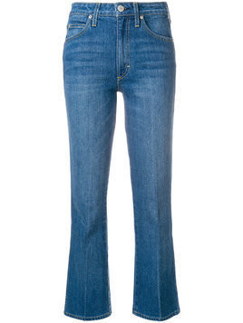 Amo flared cropped jeans - Blue
