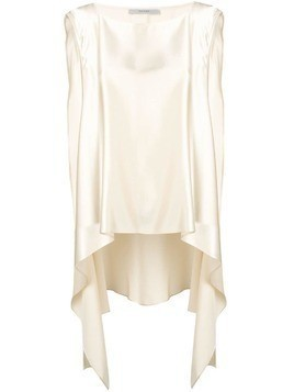 Dusan high-low hem blouse - Neutrals