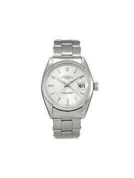 Rolex 1971 pre-owned Date 34mm - SILVER