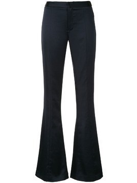 Maggie Marilyn mid-rise flared trousers - Blue