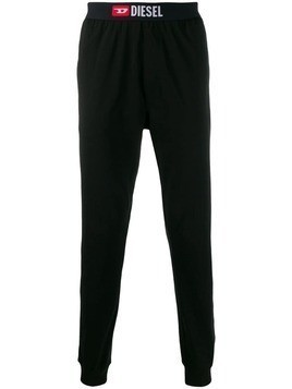 Diesel logo band track pants - Black