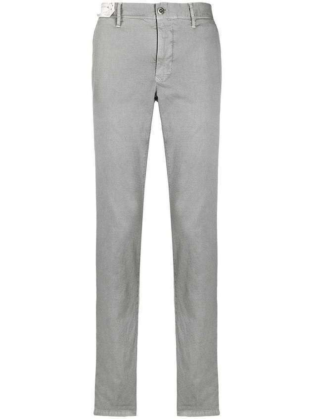 Incotex slim-fit chinos - Grey