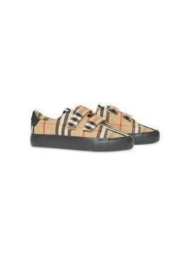 Burberry Kids Vintage Check sneakers - NEUTRALS
