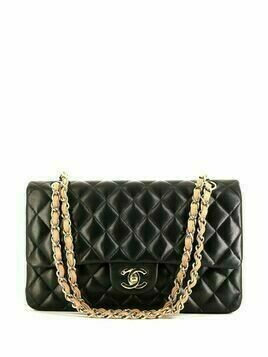 Chanel Pre-Owned quilted Timeless shoulder bag - Black