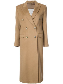 Giuliva Heritage Collection double breasted coat - Neutrals