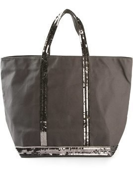 Vanessa Bruno sequin embellished tote - Grey