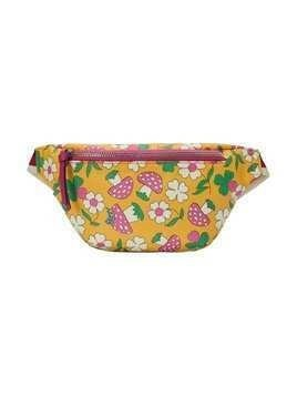 Gucci Kids mushrooms print belt bag - Yellow