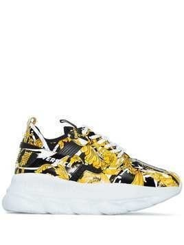 Versace Chain Reaction 2 sneakers - Black