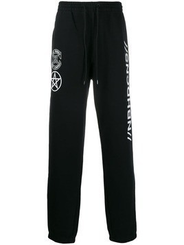 Converse x Neighborhood track trousers - Black