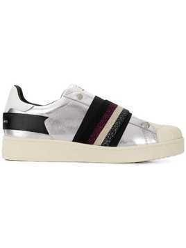 Moa Master Of Arts elasticated strap sneakers - Silver