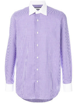 Fashion Clinic Timeless gingham check shirt - Pink