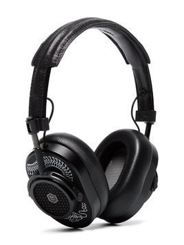 Master & Dynamic X Scott Campbell Studio Black MW40 Over Ear Leather Headphones