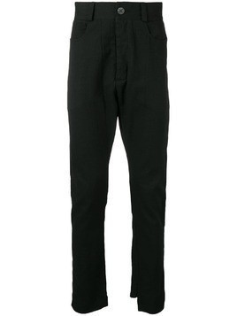 10Sei0otto five pocket trousers - Black