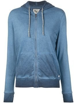 321 washed effect hoodie - Blue