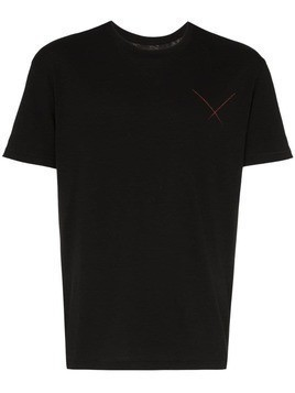 78 Stitches loose-fit T-shirt - Black
