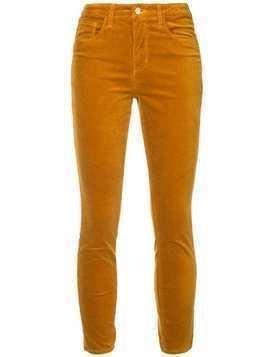 L'agence cropped jeans - Yellow