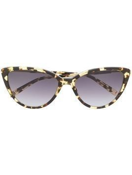 Garrett Leight Mildred Blot-G sunglasses - Brown