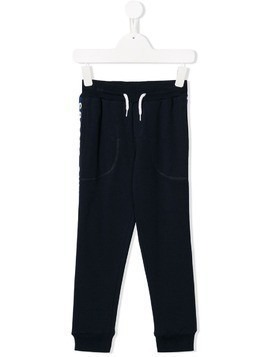 Little Marc Jacobs drawstring-waist track pants - Blue